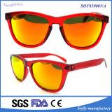 Berühmte Marken-populäre Art-Form-Brillen PC Rahmen-Sonnenbrillen des polarisierten Objektivs UV400