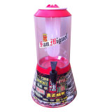 Nueva torre barata del dispensador y del jugo de la cerveza ligera del LED
