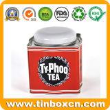 معدن قصدير صندوق لأنّ [فلفوور] [غرين تا] وأبيض شاي
