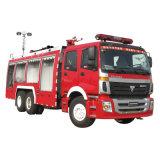 Foton 6X4 물과 거품 화재 싸움 트럭
