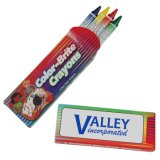 Paquets non toxiques de crayon de cire