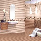 Moderno diseño interior impermeable de cerámica esmaltada baldosas de pared 300x450mm