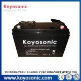 Batterie solaire d'acide de plomb rechargeable de gel 12V 100ah avec le cas de SLA
