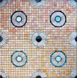 Mattonelle di mosaico di cristallo di vetro del marmo della caratteristica dell'acqua della piscina