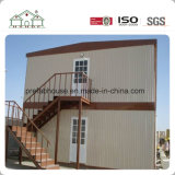 Chambre de travail préfabriquée de dortoir d'ouvrier pour le chantier de construction