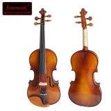 Violino avanzato del violino di legno solido dello strumento musicale di Sinomusik