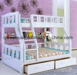 固体木のベッド部屋の二段ベッドの子供の二段ベッド(M-X2691)