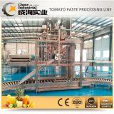 Energiesparende Idustrial Tomate-aufbereitende Zeile mit dem Plastikverpacken der flaschen-200ml