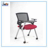 Cadeira do treinamento de Furbiture do escritório com almofada de escrita