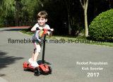 "Mini ""trotinette"" do retrocesso de Rocket para miúdos na cor da cor-de-rosa de Rosa"