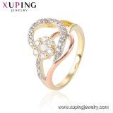 15420 успешных продаж многоцветные оцинкованные с Парижем Vintage кольцо с форму цветка