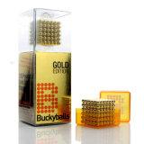 Sfera Buckyball Neocube del magnete del neodimio del pacchetto dell'acrilico di N42 5mm