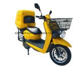 中国食糧配達のための安い1200W電気配達オートバイ