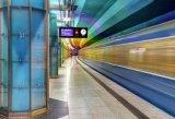 جديدة وصول مترو قضيب عرض