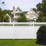 Дворовые ограды из ПВХ и ПВХ виниловая самоклеящаяся виниловая пленка белого цвета стены конфиденциальности конфиденциальность ограждения с решетке