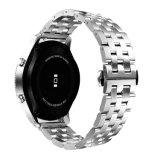 Stainlese Sustitución de la banda de acero Correa de reloj para Samsung S3 de la banda de 22mm
