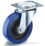 Caoutchouc élastique bleu/ Roue en nylon noir avec le roulement à rouleaux