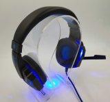 LED 가벼운 질은 직업적인 도박 헤드폰을 소리가 난다