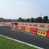 La carretera de plástico llenas de agua útil, Newway barrera barrera de seguridad vial