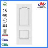 Полная кожа двери праймера самого низкого цены плоская белая (JHK-M01)