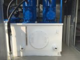 CNGの給油端末を制御する携帯用PLC