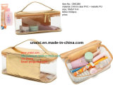 Transparency CLEAR PVC Toiletry Carry Bag Travelling make-up Case