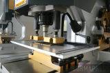 단 하나 구멍 펀치 모양을%s Q35y-25t 유압 철공