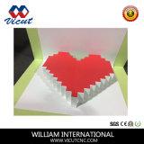 Caja de papel cartón computarizado estable Cortador plana