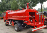 4X2 최신 판매 물 화재 싸움 트럭 트럭 5000 리터 물 텐더