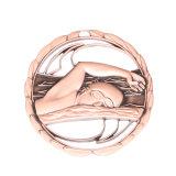 De nouveaux produits personnalisés de conception spéciale Gold silver métal médailles vierge