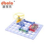 Prédio de Recursos interativos Kits Bolck Toy alimentado por bateria/Solar Ciência Kit de Aprendizagem brinquedo da Haste