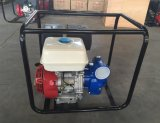 2 e 3 de gasolina do motor da potência do ferro polegadas de bomba de água para o uso da agricultura