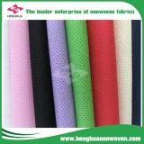 Tela no tejida grande de los PP Spunbond del rodillo hecha en China