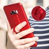 고품질 숨겨지은 반지 홀더를 가진 iPhone x 케이스를 위한 Breathable TPU 메시 열복사 전화 상자,