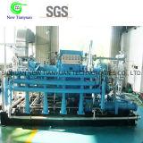 compresor del diafragma de la compresión del gas raro de la capacidad de flujo de volumen 160nm3/H