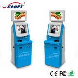 De Kiosk van de Automaat van de Kaart van de fabrikant van China met het Uitgeven van de Acceptor en van de Kaart van de Nota