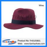 형식 유럽 남녀 공통 모직 펠트 파나마 중절모 Trilby 모자