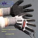 Горячая продажа Anti-Cut Nmsafety высокой Ударопрочный механик перчатки