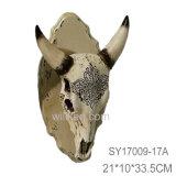 수지 3D 벽 장식 동물성 트로피 헤드 벽 커튼 훈장