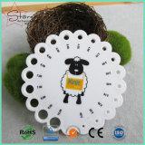 Mesures blanches en plastique rondes de pointeau de tricotage de picoseconde de qualité