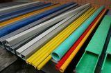Buen tubo de la fibra de vidrio de la instalación, FRP GRP poste/tubo
