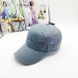 Оптовая выдвиженческая бейсбольная кепка вышивки Applique панели вспомогательного оборудования способа 6