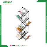 Interverrouillé Modular animal de petite taille de rack d'affichage de cobaye Wire Mesh cages de stockage de cubes de grille
