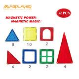 magnetischer 32PCS Baustein-Fliese-Aufbau-gesetzte Spielwaren