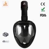 La norme ISO 9001 100 % Piscine Anti-Leak masque tuba Masque facial intégral