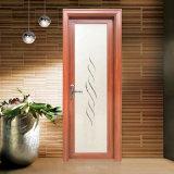 Подгонянная дверь ванной комнаты строительного материала алюминиевая с декоративной решеткой
