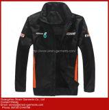 Для изготовителей оборудования по современным стандартам высокого качества полиэстер мужчин куртки слой для занятий спортом (J282)
