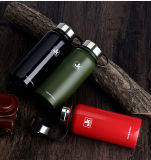 Jiakang doppel-wandiger Edelstahl-Vakuumwasser-Flaschen-große Kapazitäts-im Freiensport-Kessel
