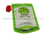 OEM de Plastic Vloeibare Verpakkende Zak van de Ritssluiting van Spuiten Doypack