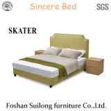 Moderne amerikanische Art-Gewebe-Bett-Schlafzimmer-Möbel